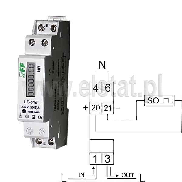 Podłączyć wskaźniki prądu przemiennego